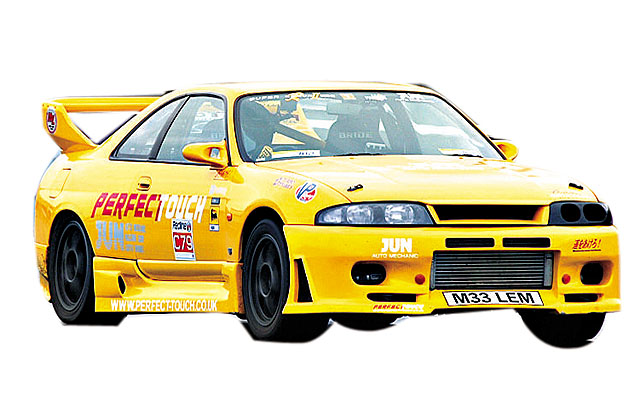 改 得 最 �� 的 R33 是 JUN 的 Super Lemon RII , 1,000 匹 �R 力 �O 速 376.5km/h