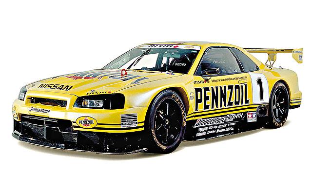 R34 一 出 即 �Y JGTC , Pennzoil Nismo �S 一 用 即 全 年 冠 。