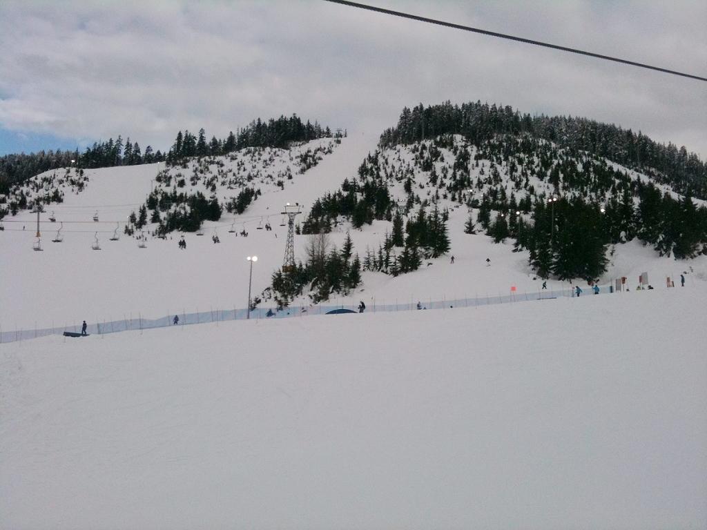 Mt. Stranchan的几条雪道