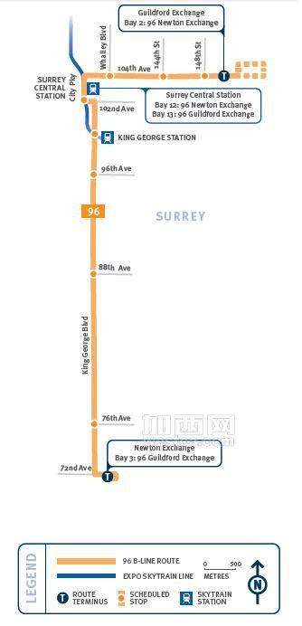 96 B-Line Route Map.jpg
