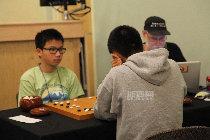 加西少年棋友Methew Hu(胡子扬)和Bill Lin(林天予)不幸同室操戈