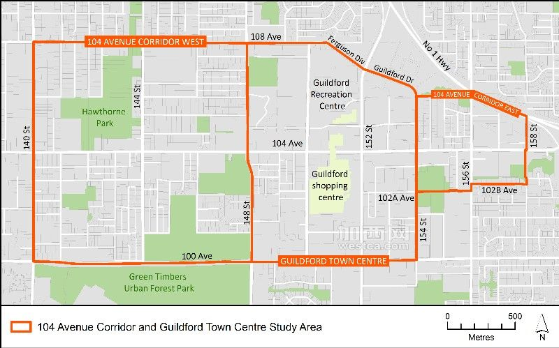 104 Avenue Corridor and Guildford Town Centre Study Area.jpg