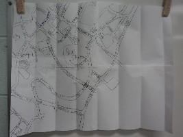 儿子画的地图